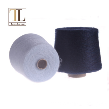 Topline high percent brush super kid mohair yarn