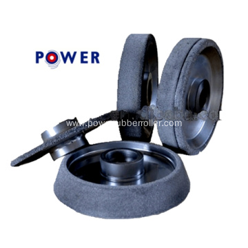 Stable Rubber Roller Grinding Wheel