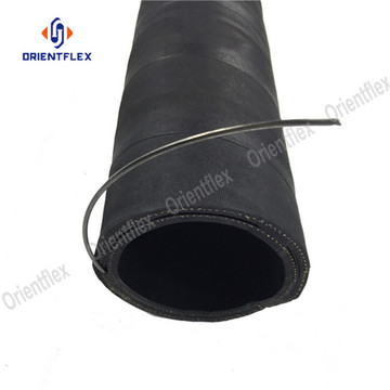 Oil suction and rubber discharge hose