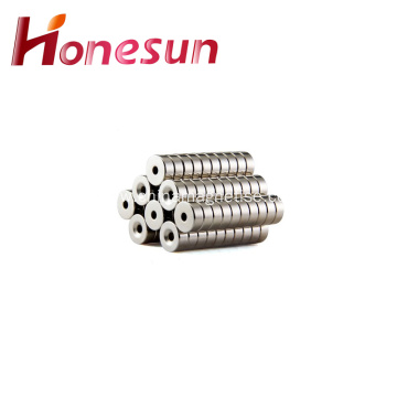 Strong Sintered Countersunk Neodymium Magnet For Screw