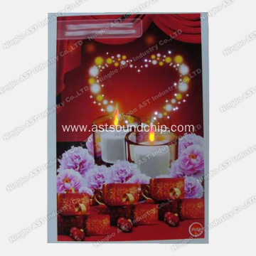 LED Music Cards, LED Paper Cards