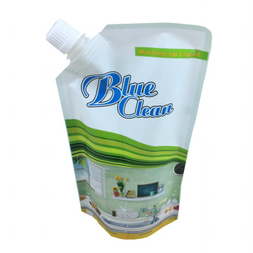 Packaging custom Eco-friendly bag standing bag for detergent