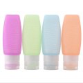 FDA Shampoo Silicone Travel Bottles Tubes