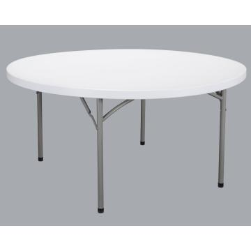 Factory  Plastic Folding Table steel leg