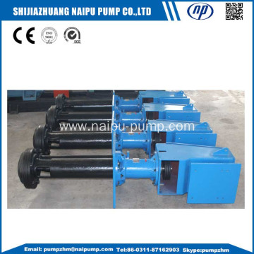 vertical slurry pump for gold mining usage