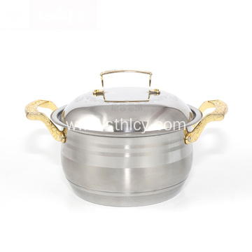 3pcs Set Stainless Steel Cooking Pot