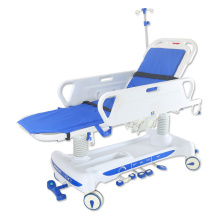 Hospital critical hydraulic patient stretcher