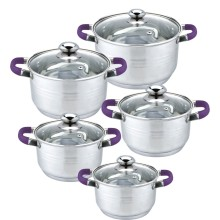 Casserole 10pcs cookware set