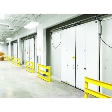 High speed cold storage PVC door