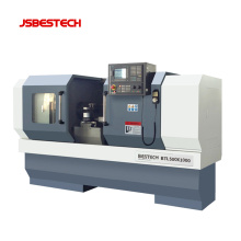 BTL500 horizontal cnc turret lathe machine