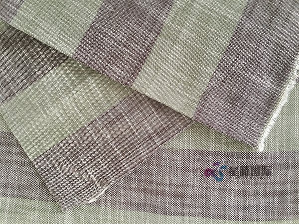 Bamboo Cotton Yarn Dyed Fabric For Shirts
