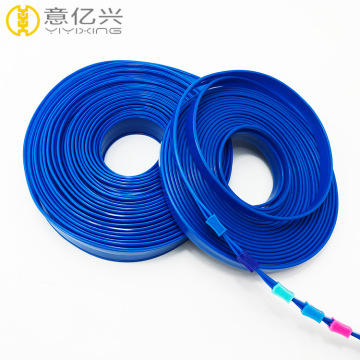 Factory direct transparent pvc zipper wholesale