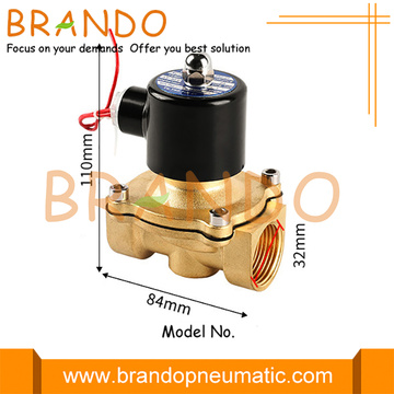 1'' 2W250-25 UW-25 Brass Water Electric Solenoid Valve
