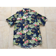Cotton Printing Hawaii Shirt For Seaside