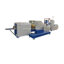 High Quality Roll-fed Square Bottom Paper Bag Machine