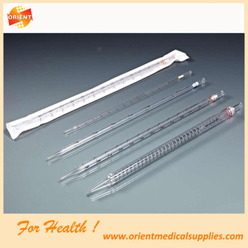 Disposable Laboratory Plastic Serological Pipette