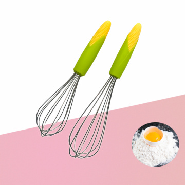 Stainless steel cartoon handle egg beater