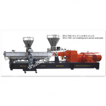 Twin screw extruder underwater pelletizing systems