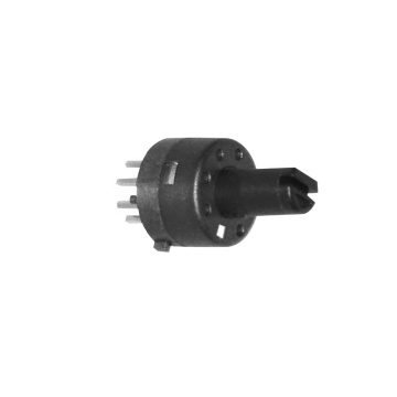 8 positions 1 Pole Electric Small Rotary Switch