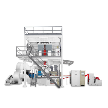 2.4m S PP spunbond nonwoven fabric making machine