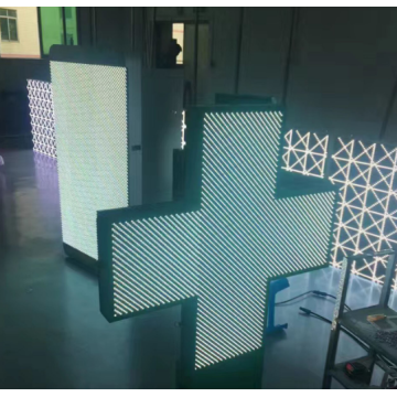 LED Display Pharmacy P10 Cross