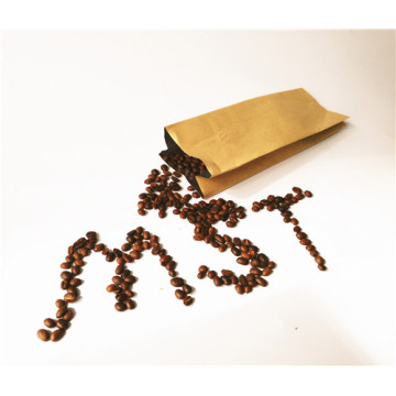 Coffee Bean Paper Side Gusset Bag with Valve