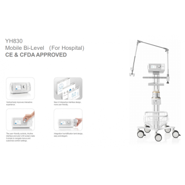 YH-830 mobile Bi-level for hospital