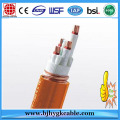 Low smoke halogen free 2 core 2.5mm2 double shielded cable