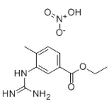 3-[(Aminoiminomethyl)amino]-4-methylbenzoic acid ethyl ester mononitrate CAS 641569-96-2