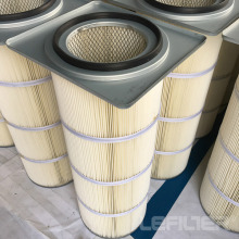 Spun Bond Polyester Cartridge Filter For Grinding Dust