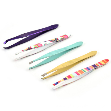 Stainless steel eyebrow clip to eyebrows eyebrow tweezers eyebrow clip