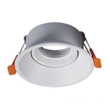 Square and Round GU10 MR16 downlight fixture Adjustable