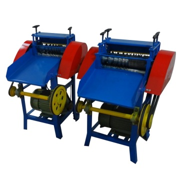 Scrap Cable Wire  barking machine