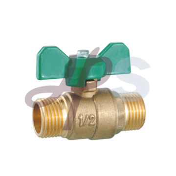 Brass ball valves M/M