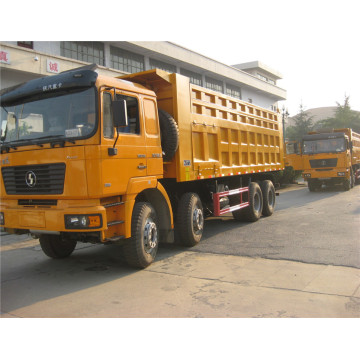 Shacman 8X4 420HP dump truck in uae with weichai engine shacman dump truck