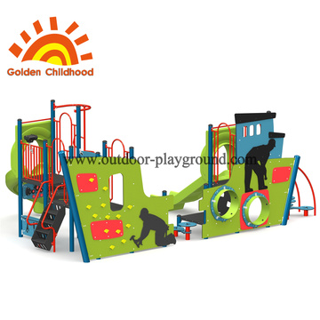 Green Multiply Structure For Children