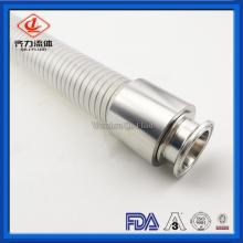 FDA Grade Clear Wire Reinforced Silicone Hose