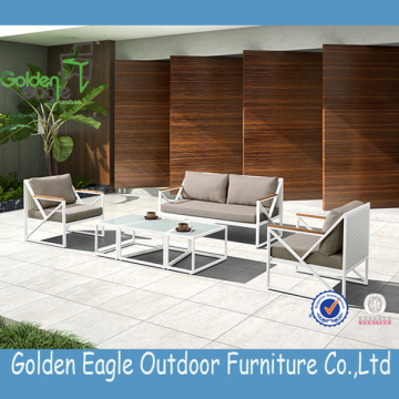 Outdoor Furniture And Wicker Sofa With Pe Rattan
