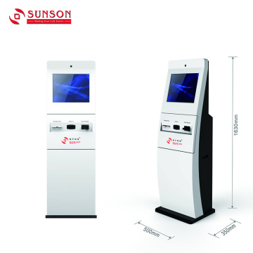 Free Standing Charity Donation Cash Payment Kiosk