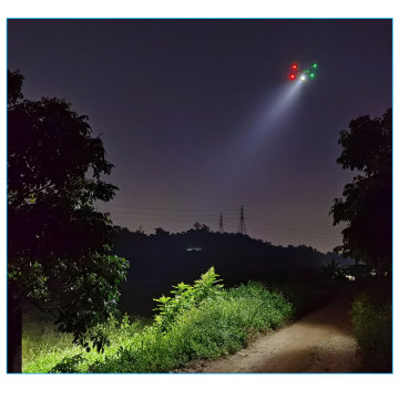 TZD-120 high brightness Drone searchlight For Search Rescue