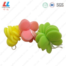 Flower butterfly style bathing sponge
