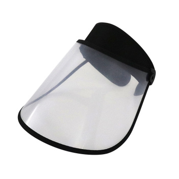 Transparent full face cover visor hat