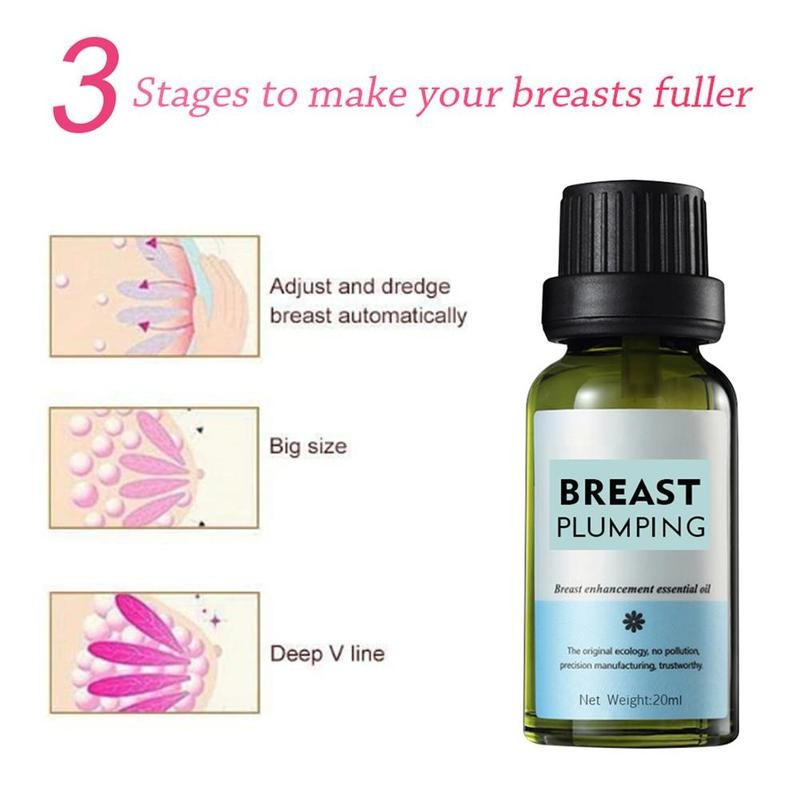 20ml Breast Enlargement Essential Oil For Breast Growth Breast Boobs Oil Big Firming Care Bust Massage Oil Enhancement Q5V3