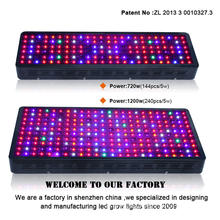 Led vertical led grow light for hydroponic system