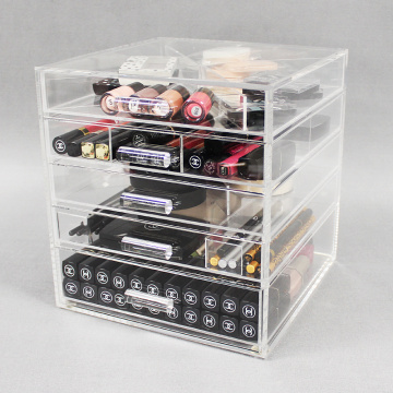 Cheap Clear Acrylic Cosmetic Drawers