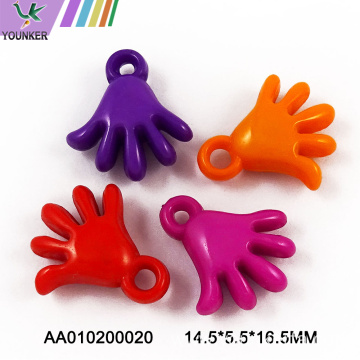 Decorative Colorful Plastic Acrylic Pendant Charm