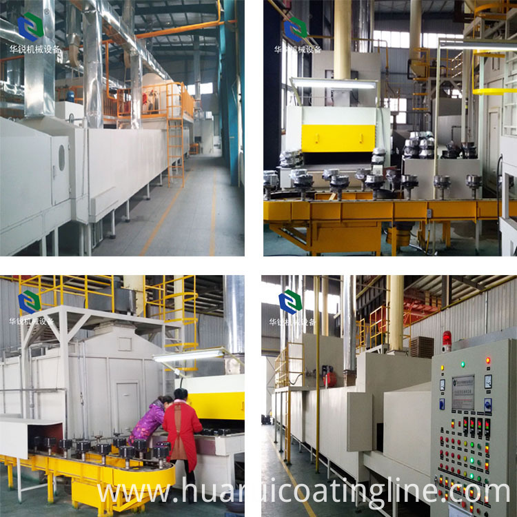 no-stick coating line