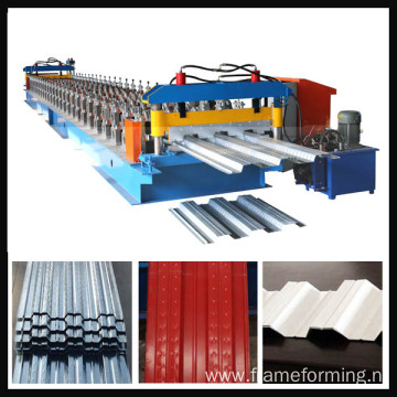 720 Floor deck roll forming machine
