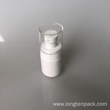 50ml PET bottle with lotion pump for cream