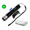 Laser Pointer JD-850 Green High Power 5MW 532nm Flashlight Bright Single Point Lazer Pen + 16340 Battery + Charger + Box
